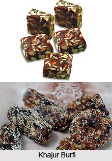 Khajur Burfi, Indian Sweet