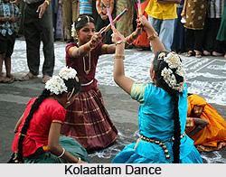 Kolaattam Dance, Folk Dance of Tamil Nadu