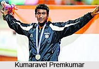 Kumaravel Premkumar, Indian Long Jumper