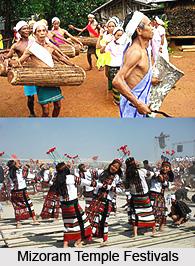 Mizoram Temple Festivals