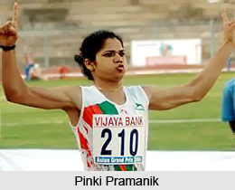 Pinki Pramanik, Indian Athlete
