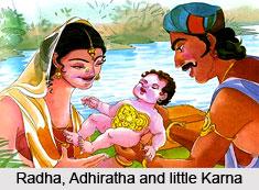 Radha, Foster Mother Of Karna