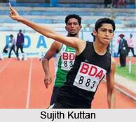 Sujith Kuttan, Indian Athlete
