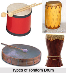Tomtom Drum, Percussion Musical Instrument