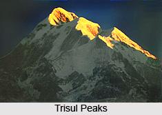 Trisul Peaks, Mountain Peaks of India, Uttarakhand