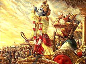 Godless Existence in Bhagavad Gita