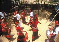 Tripuri Tribal Dance - Gariya