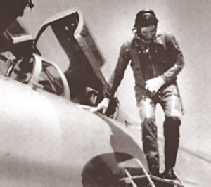 Arjan Singh Getting out of a Mig 21, after a flight