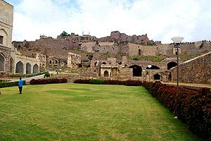 Sculpture of Golconda Fort, Indian Sculpture
