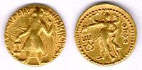 Gold Coins of Kushana