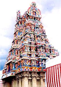Gopuram madurai Temple of Salem District, Tamil Nadu