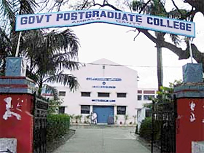 Government Post Ggraduate Collage at Ambala