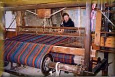 Handlooms weaving