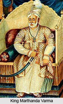 Marthanda Varma, King of Travancore