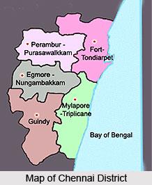 History of Chennai District