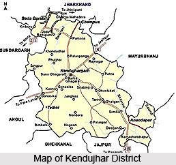 Kendujhar District, Orissa