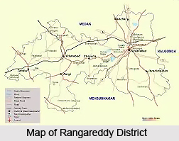 Geography of Ranga Reddy District