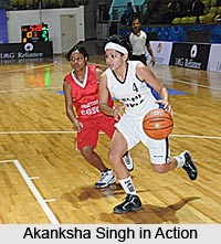 Akanksha Singh, Indian Basketball Player