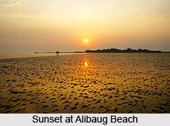 Alibaug Beach, Raigad District, Maharashtra