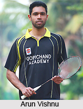 Arun Vishnu, Indian Badminton Player