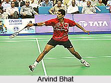 Arvind Bhat, Indian Badminton Player