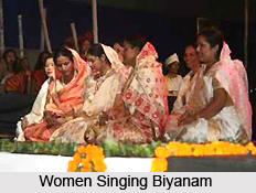 Biyanams, Assamese Folk Songs