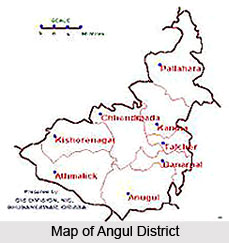 Demography of Angul District