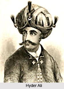 First Mysore War, 1767-1769, British India