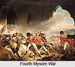 Fourth Mysore War, 1799, British India