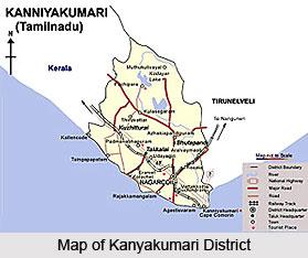 Geography of Kanyakumari District, Tamil Nadu