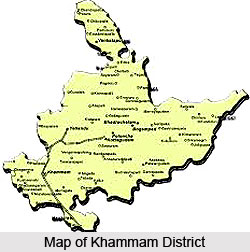 Geography of Khammam District