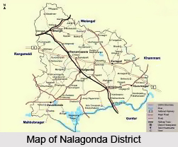 Geography of Nalgonda District
