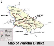 Geography of Wardha District, Maharashtra