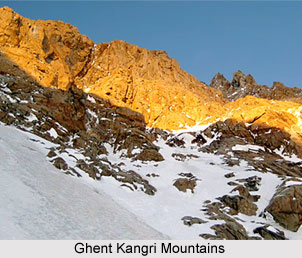 Ghent Kangri Mountain