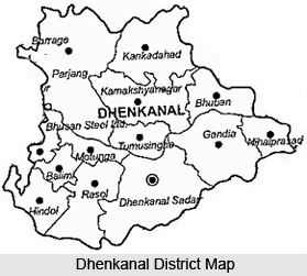 History of Dhenkanal District