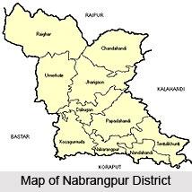 History of Nabrangpur district, Orissa