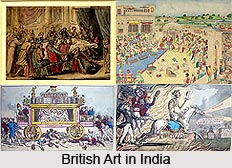 Indian Art and Craft during British Rule, British India
