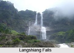 Langshiang Falls, Meghalaya