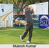 Mukesh Kumar, Indian Golf Player