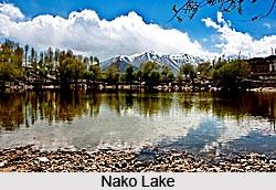 Nako Lake, Kinnaur District, Himachal Pradesh