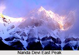 Nanda Devi East Peak, Mountain Peak of India