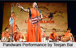 Pandwani Dance, Indian Folk Dance