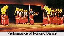 Ponung Dance, Folk Dance of Arunachal Pradesh