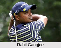 Rahil Gangjee, Indian Golf Player