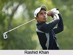 Rashid Khan, Indian Golf Player