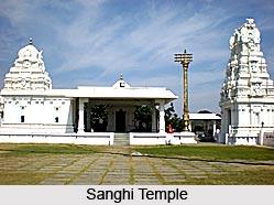 Sanghi Temple, Hyderabad, Telangana