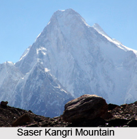 Saser Kangri Mountain