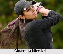 Sharmila Nicollet, Indian Golf Player