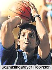 Sozhasingarayer Robinson, Indian Basketball Player