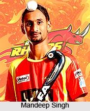 Mandeep Singh, Indian Hockey Player
